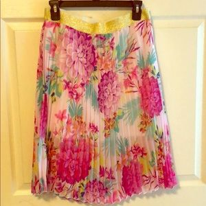 Bright Floral Skirt 🌺